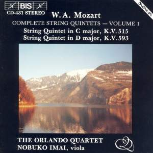 Mozart - Complete String Quintets, Volume 1 Product Image