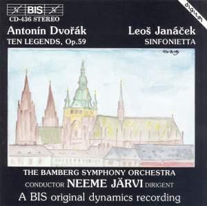 Dvorak: Legends & Janacek: Sinfonietta