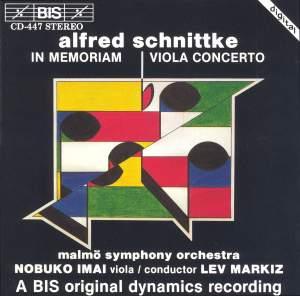 Schnittke: In Memoriam & Viola Concerto Product Image
