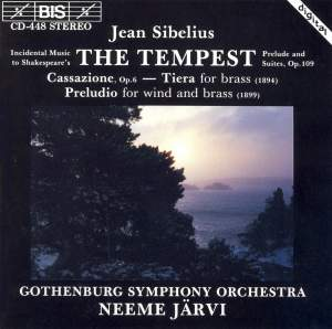 Sibelius - The Tempest Product Image