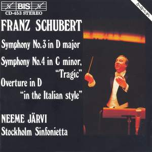 Schubert: Symphony No. 3 in D major, D200, etc. Product Image