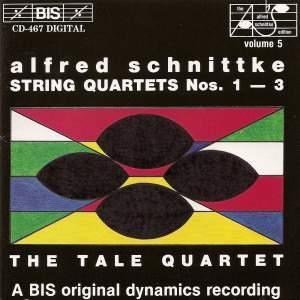 Schnittke - String Quartets Nos. 1, 2 & 3 Product Image