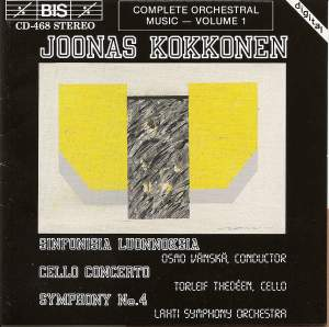 Kokkonen: Symphony No. 4, Cello Concerto & Symphonic Sketches Product Image