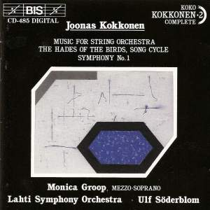 Kokkonen: Symphony No. 1, etc.