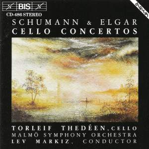 Cello Concertos by Schumann and Elgar Product Image
