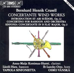 Crusell - Concertante Wind Works Product Image