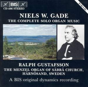 Niels W Gade - The Complete Solo Organ Music Product Image