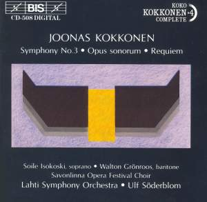 Kokkonen: Symphony No. 3, etc.