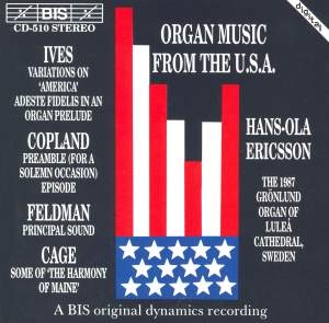 Organ Music from USA Product Image