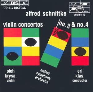 Schnittke: Violin Concertos Nos. 3 & 4 Product Image