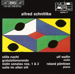 Schnittke - Violin Sonatas Product Image