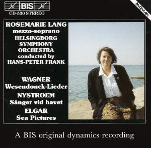 Songs by Wagner, Nystroem, Elgar