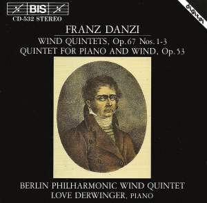 Danzi - Wind Quintets, Volume 1