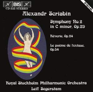 Scriabin: Symphony No. 2 in C minor, Op. 29, etc. Product Image