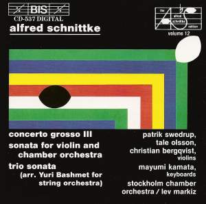Schnittke: Concerto Grosso No. 3, etc. Product Image