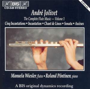 André Jolivet - Complete Flute Music, Volume 1 Product Image