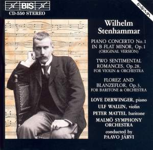 Stenhammar: Piano Concerto No. 1, Two Sentimental Romances Product Image