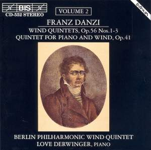 Danzi - Wind Quintets, Volume 2 Product Image