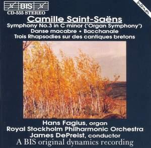 Saint-Saëns: Symphony No. 3 & Danse macabre Product Image