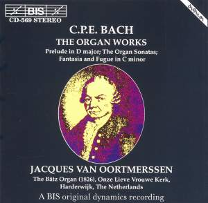 C.P.E. Bach - Organ Works Product Image