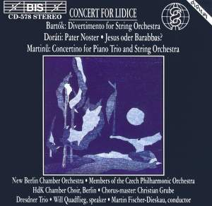 Concert for Lidice Product Image