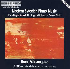 Modern Swedish Piano Music Product Image