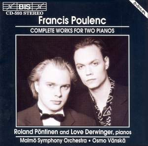 Poulenc - Complete Works for Two Pianos