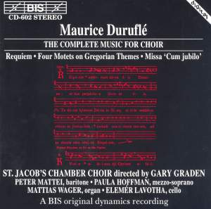 Duruflé - The Complete Music for Choir Product Image