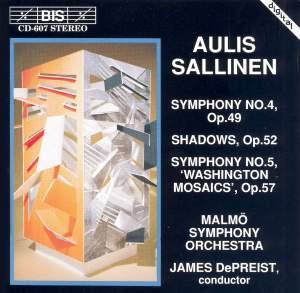 Sallinen: Symphony No. 4, Op. 49, etc.