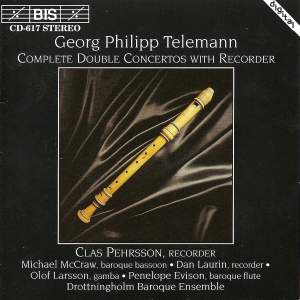 Telemann - Complete Double Concertos with Recorder Product Image