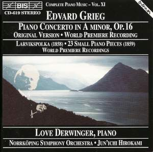 Grieg: Piano Concerto in A minor, Op. 16, etc.
