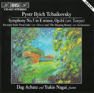 Tchaikovsky - Arrangements for Two Piano Product Image