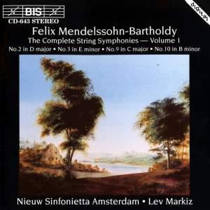 Mendelssohn - Complete String Symphonies, Volume 1