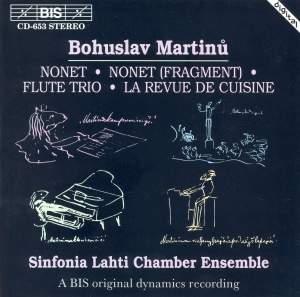 Bohuslav Martinu - Chamber Music