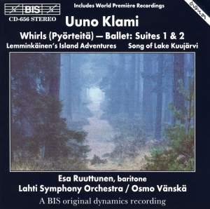 Klami: Whirls (Pyörteitä) - Ballet Suites Nos. 1 & 2, etc. Product Image