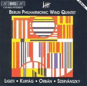 Hungarian Music for Wind Quintet Product Image
