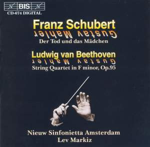 Schubert & Beethoven - String Quartets arranged for Orchestra by Mahler