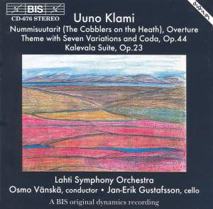 Klami: Kalevala Suite, Op. 23, etc. Product Image