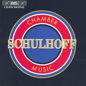 Erwin Schulhoff - Chamber Music
