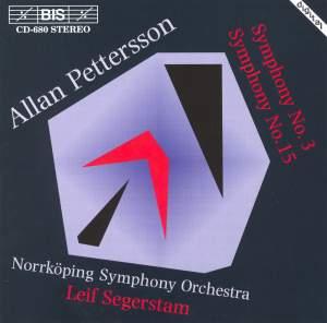 Pettersson - Symphonies Nos. 3 & 15 Product Image