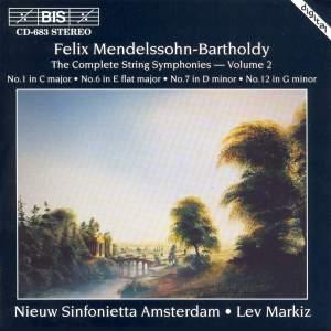Mendelssohn - Complete String Symphonies, Volume 2 Product Image