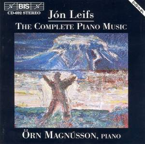 Jón Leifs - Complete Piano Music Product Image