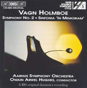 Holmboe: Symphony No. 2, Op. 15 (M. 107), etc. Product Image
