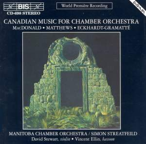 Canadian Music for Chamber Orchestra Product Image