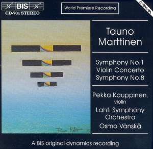 Marttinen: Symphonies Nos. 1 & 8 and Violin Concerto Product Image
