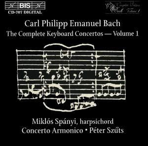 C P E Bach - Complete Keyboard Concertos, Volume 1