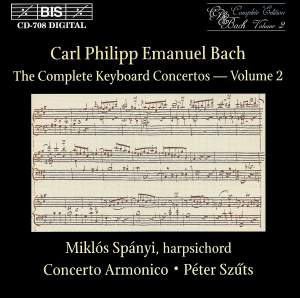 C P E Bach - Complete Keyboard Concertos, Volume 2 Product Image
