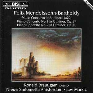 Mendelssohn - Piano Concertos Product Image