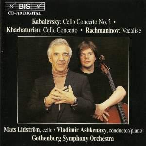 Kabalevsky & Khachaturian: Cello Concertos & Rachmaninov: Vocalise