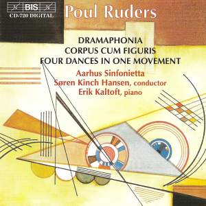 Ruders: Four Dances in One Movement for chamber ensemble, etc. Product Image